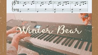 BTS  V - Winter Bear Piano Cover