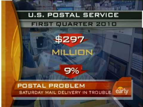 Post Office May Halt Saturday Mail