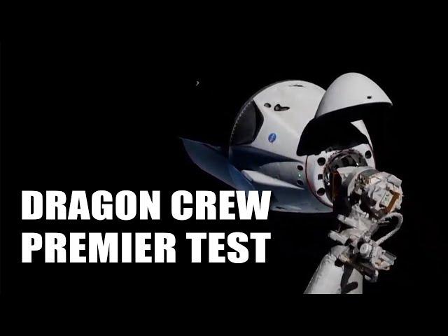 SPACEX envoie son premier VAISSEAU habitable vers l'ISS ! EC