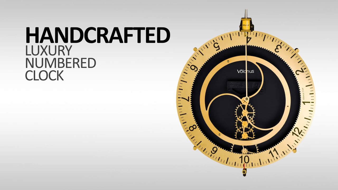 Wall Clock D239 Volanus Best Wall Clock Great Gift Luxury
