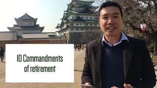 #UsapangPera 028: 10 Commandments to Retirement