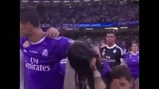 Cristiano With Georgina After Match Final UCL 2017