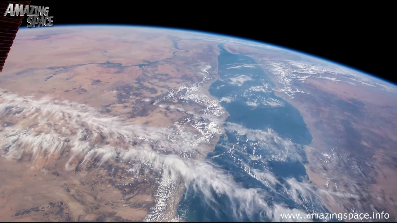 Earth From Space Time Lapse The International Station HD