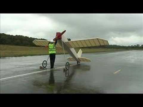 Jetstream Maiden Manned Flight Attempt Of Rubber Band