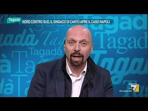 Sindaco di Cantù: 'Non sono razzista ma Napoli è una città distrutta'