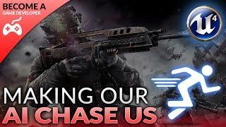 Vijandelijke AI Volgende/Jagen - #25 het Maken van Een First Person Shooter (FPS) Met de Unreal Engine 4