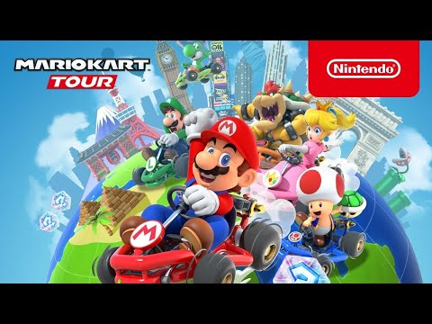Mario Kart Tour Game Play