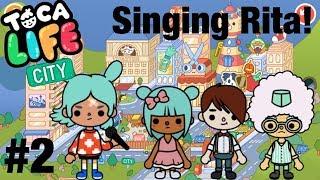Toca life city   Singing Rita!? #2