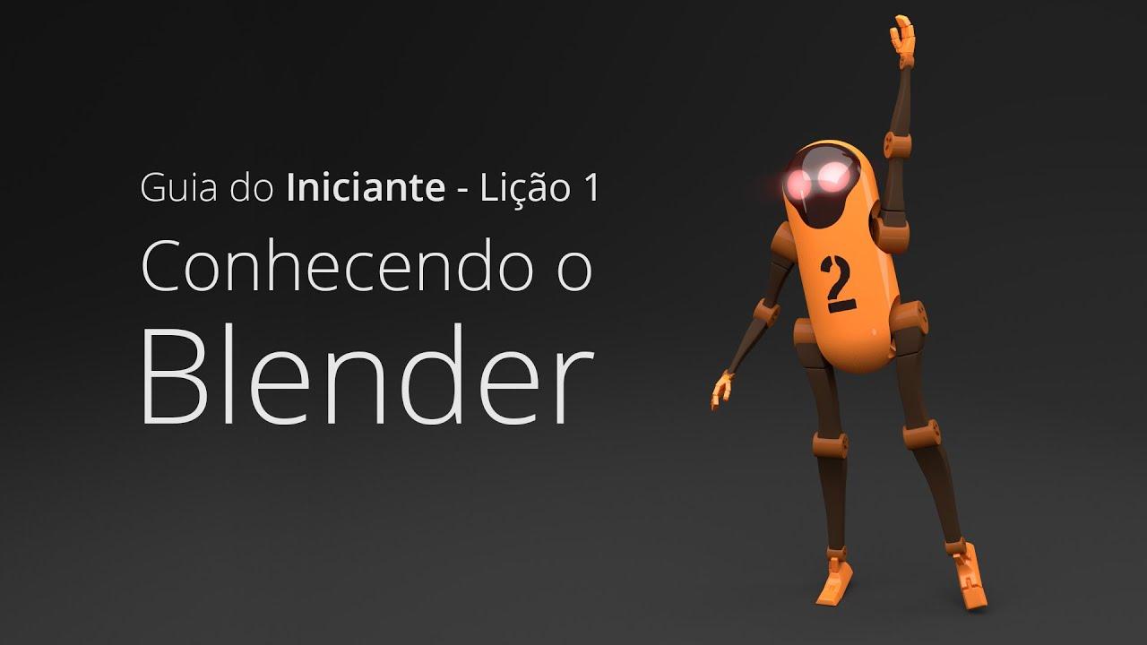 Conhecendo o Blender - Guia do Iniciante Lição 1