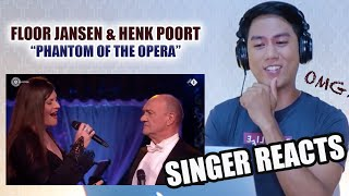 Floor Jansen and Henk Poort - Phantom Of The Opera (Beste Zangers 2019) | REACTION