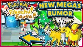 Pokémon Let's Go Pikachu & Eevee - New Mega Evolutions Rumor!