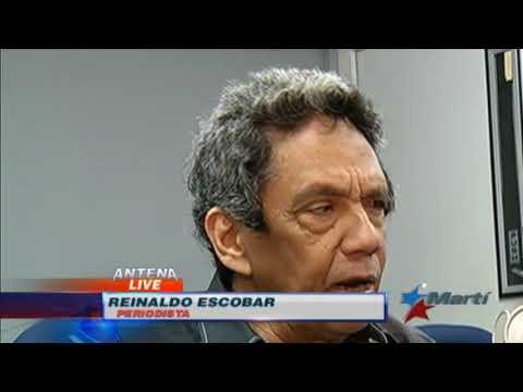 """Abogado cubano Gómez Manzano presenta su libro """"¿Puedo opinar?""""."""