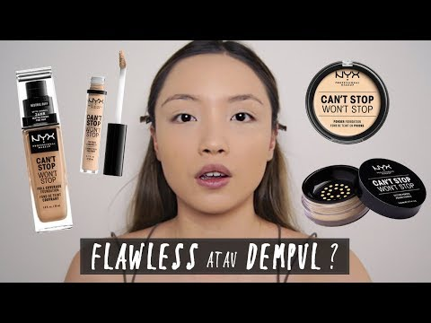 NYX Can't Stop Won't Stop Collection FULL HONEST  REVIEW  GELANGELICCA