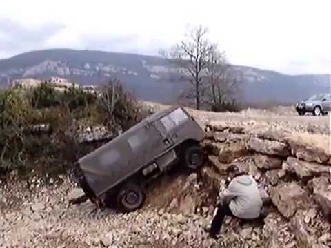 Pinzgauer - The Best All-Terrain Vehicle