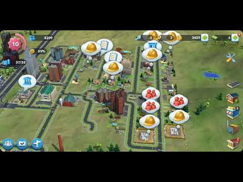SimCity BuildIt Gameplay (in French) | GigDjinn Post Dud Gaming Surfer |