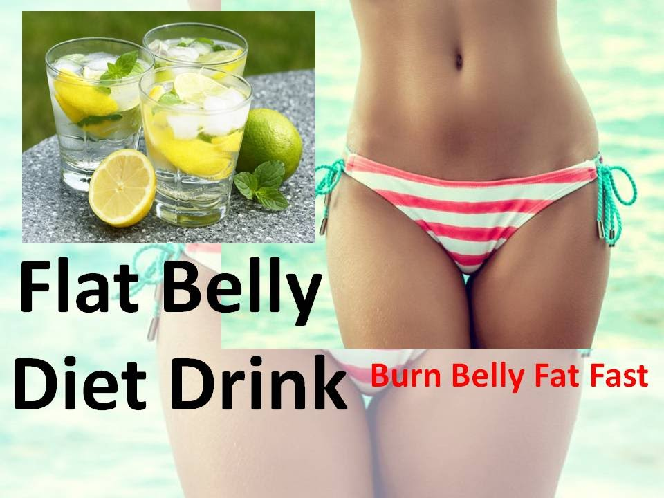 Flat Belly Diet Drink - How to Loose Belly Fat with Detox Water ...