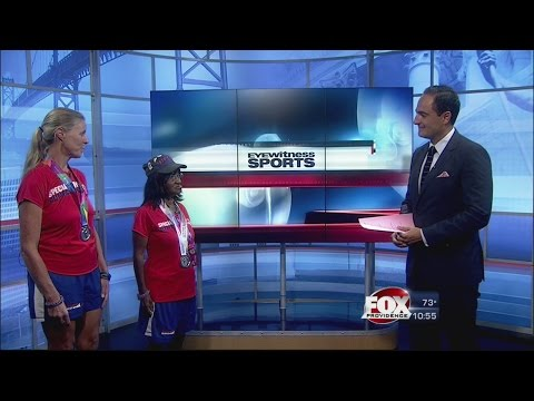 Special Olympic Silver Medalists from Rhode Island Join Yianni Kourakis on Sports Wrap