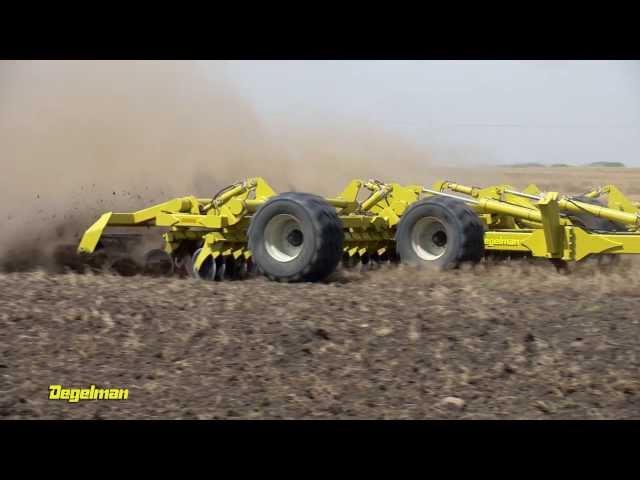 Degelman Pro-Till High Performance Tillage Cultivator - Cage Roller