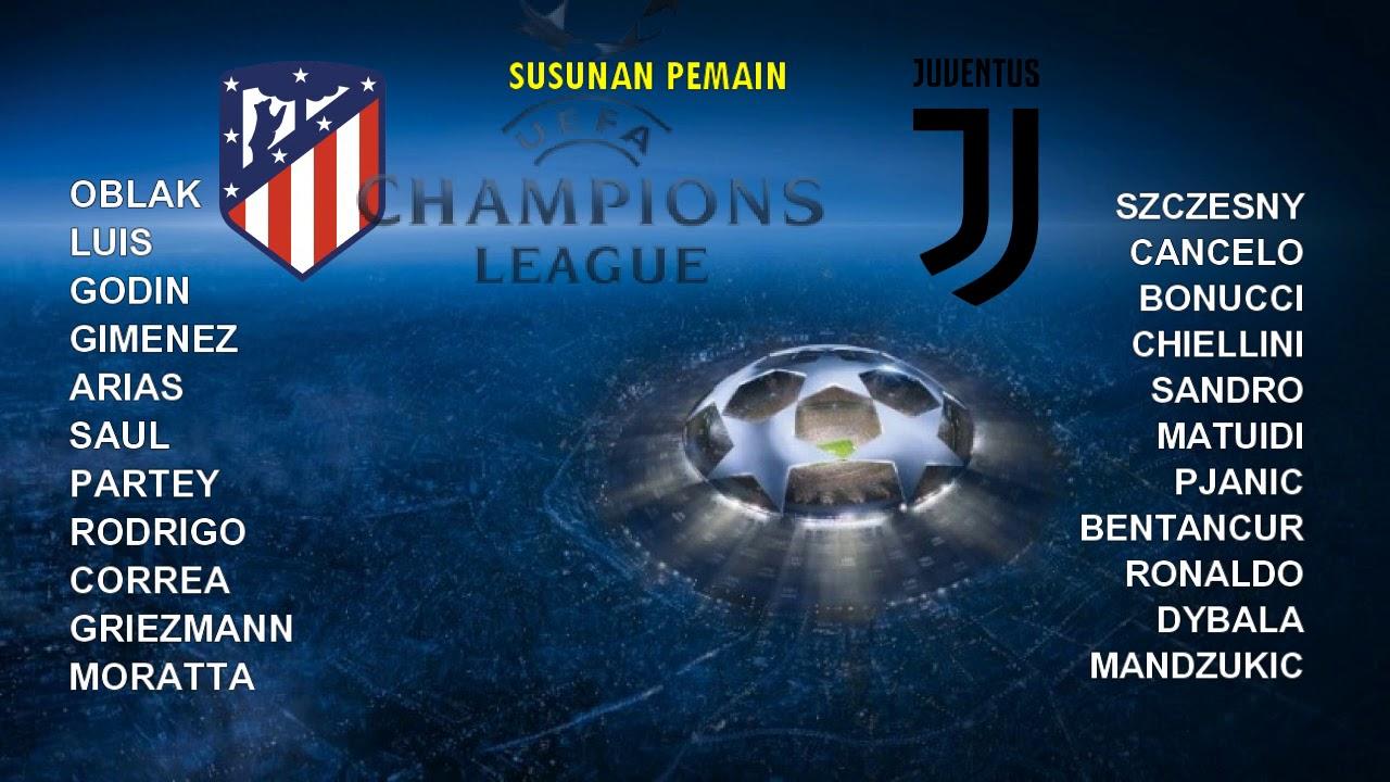 Download VIDEO - LIVE STREAMING  Atletico Madrid vs Juventus, Babak 16 Liga Champions