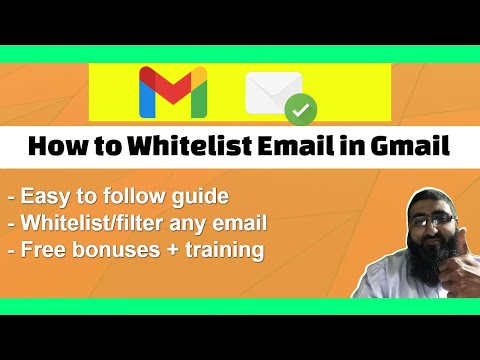 How to Whitelist Email in Gmail thumbnail