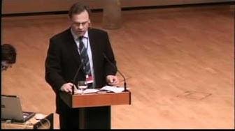 Lappeenranta   Tapio Kuula spoke at the 1st EU-Russia Innovation Forum