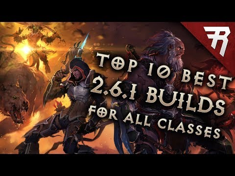 Top 10 Best Builds for Diablo 3 2.6.1 Season 12 (All Classes