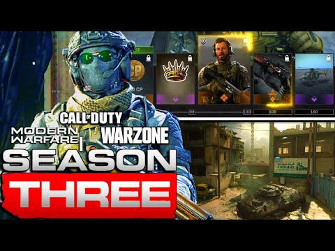 Season 3 Battle Pass and New Map Walk Through | Modern Warfare Update | JGOD