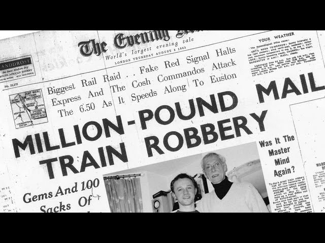 Image result for thieves stage britain's great train robbery