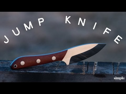 Knife Making - A Jump Knife (Canadian Military Knife)