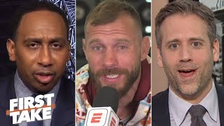 Stephen A. and Max interview Donald 'Cowboy' Cerrone ahead of McGregor fight at UFC 246 | First Take