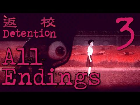 Detention - The Truth ( ALL ENDINGS ) Manly Let's Play Pt.3