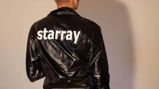 Shiny starray trackies jacked and tanktops nylon polyamid glänzende Jacken und Sporthosen