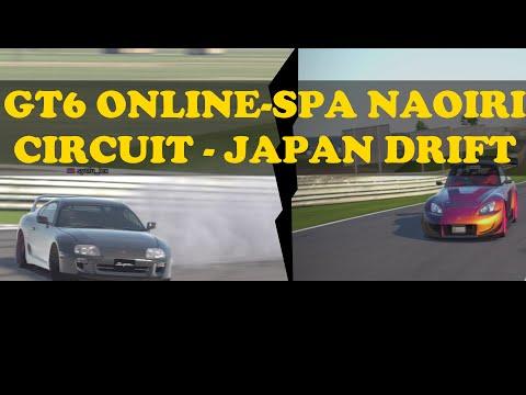 GT6 ONLINE - SPA NAOIRI CIRCUIT JAPAN  REPLICA - DRIFTING
