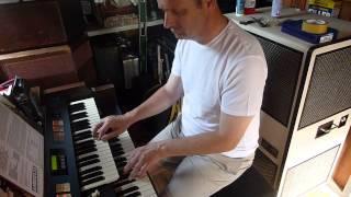 Adrian Rose Hammond organ 80th anniversary.Hammond  ex2000B and Leslie 822