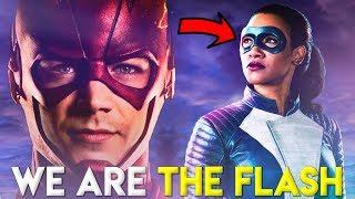 No creers cmo IRIS WEST CONSIGUE SUPER VELOCIDAD - The Flash 4x16 Run Iris Run Promo