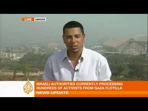 Israel detains Gaza flotilla passengers