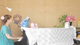 ★「パンのマーチ」ペギー葉山&「誰かがサズを弾いていた」ヤドランカ~みんなのうた 2017・8月、9月放送分~Piano&Vocal♡