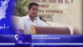 1/2 HORA DE TITULARES del Noticiero Nacional de Televisión en MACONDO.