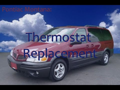 pontiac montana thermostat replacement youtube Pontiac Aztek Thermostat pontiac montana thermostat replacement