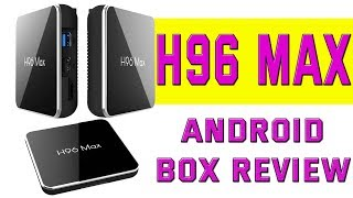 H96 Max X2  Android Box     Android 8.1     I Think I Like This 1