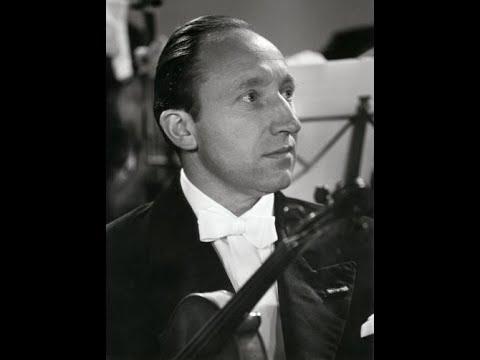 Herman Krebbers - Mengelberg - Brahms : Violin Concerto Op.77 (1943)