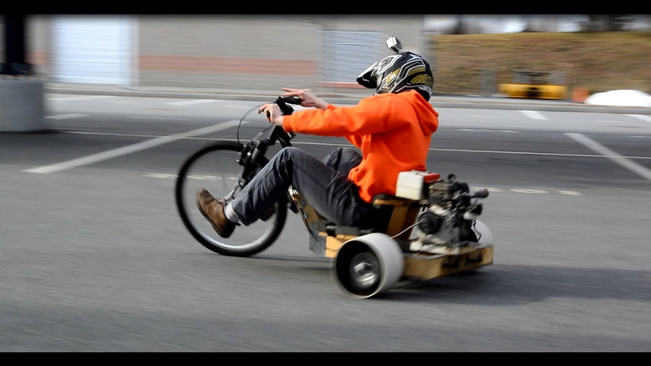 Wrenchitup Ep 4 Wooden Drift Trike Revival With A Snowblower Engine It Works