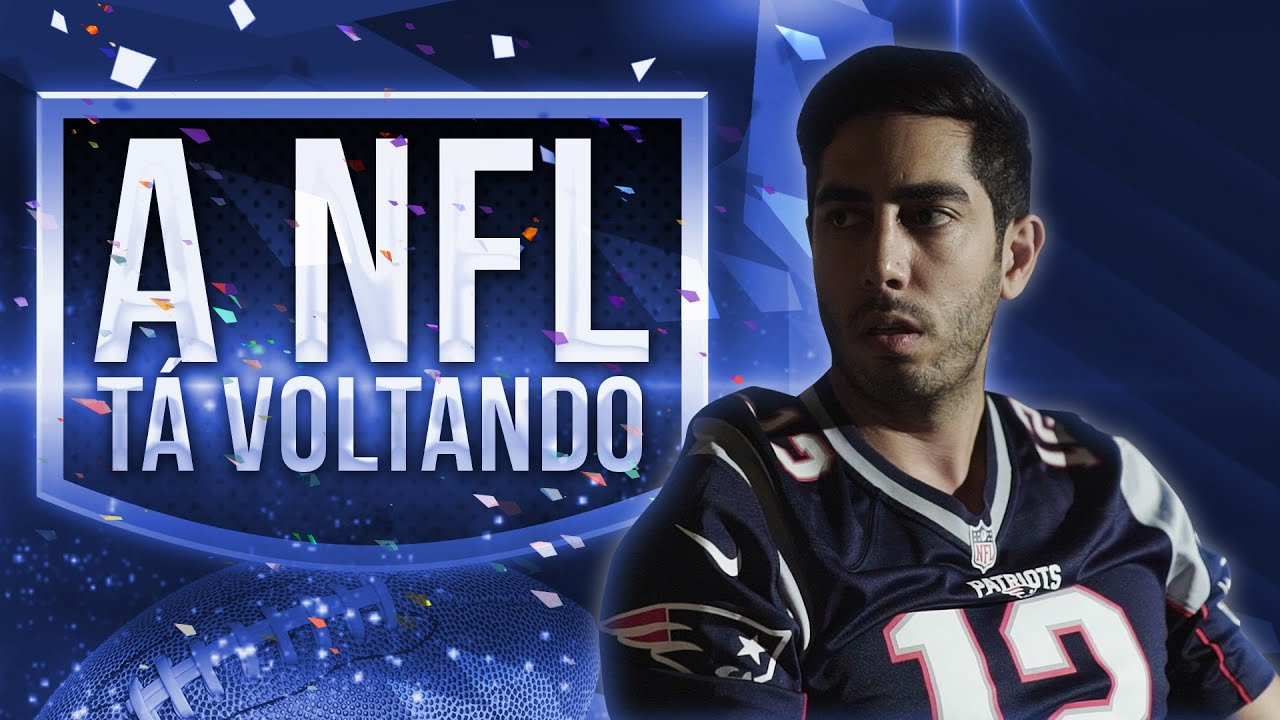 A NFL tá voltando - DESCONFINADOS (erros no final)