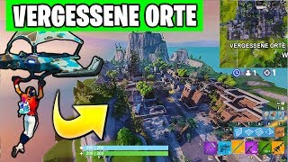 😱🏆 The GENIALS VERGESSENE Places for Risky Reels | Fortnite Block Party German