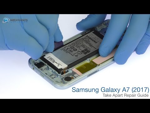 Samsung Galaxy A7 (2017) Take Apart Repair Guide - RepairsUniverse