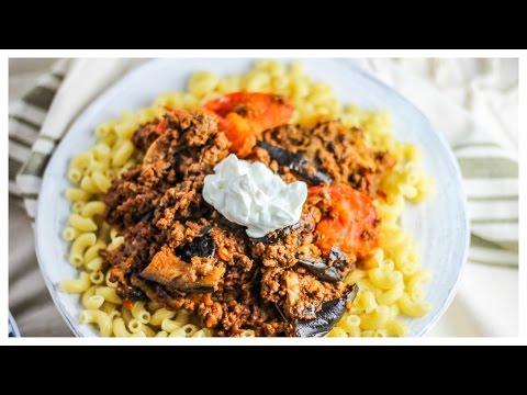 Persian Seared Eggplant and Tomato Beef (Gheimeh Baademjaan) - Recipe