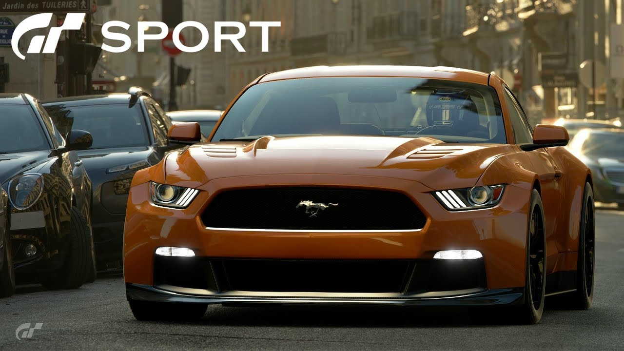 Gt Sport Ford Mustang Gr 3 Road Car Review Youtube