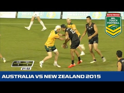 Touch World Cup Final 2015 | Australia VS NZ