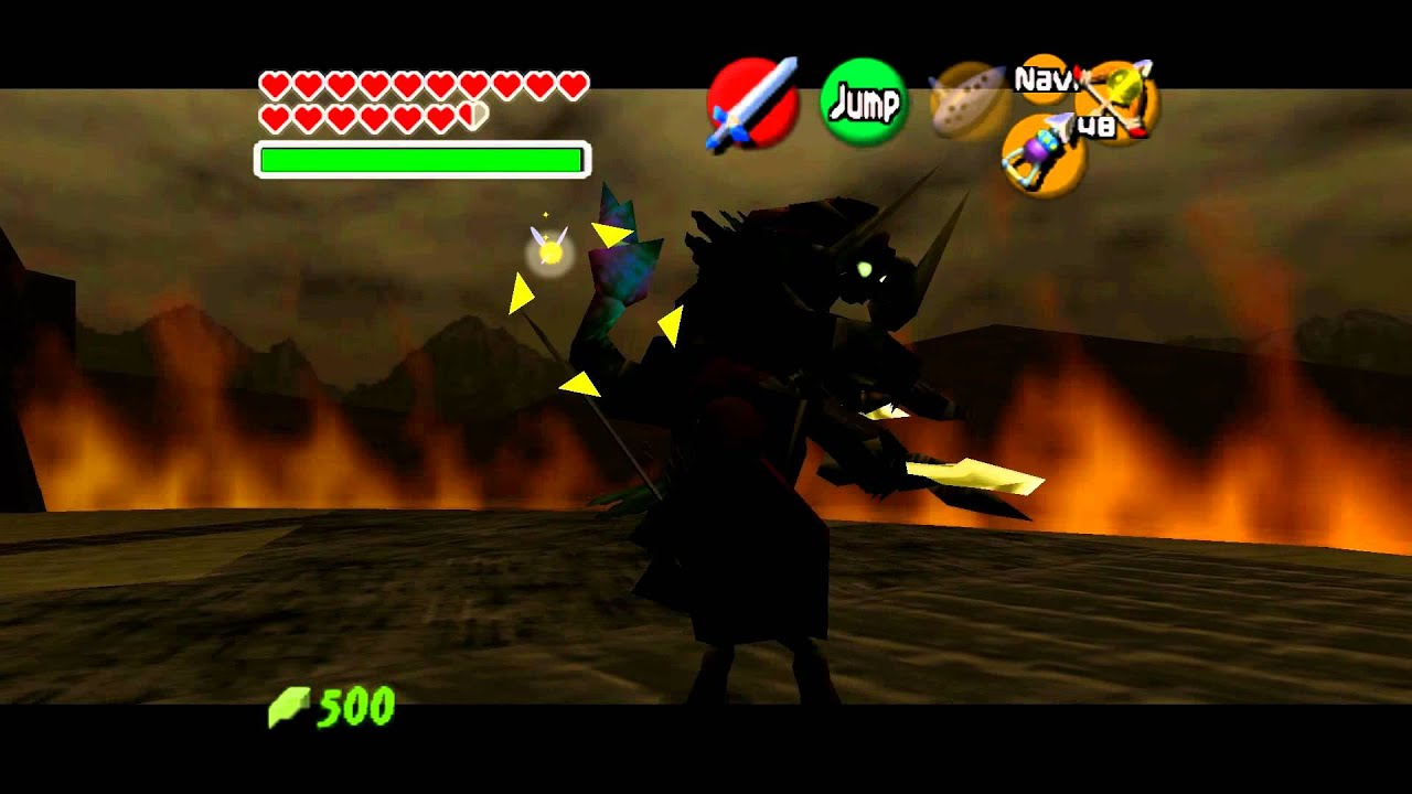 Legend Of Zelda Ocarina Of Time Final Boss Ganon 1080p