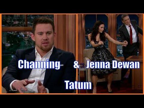The Tatums - Channing & Jenna Dewan Tatum - Channing Brings Party & Jenna Twerking - To Ferguson